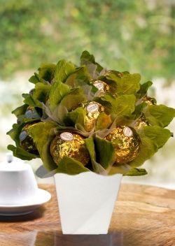 Arrumação de mesa. Ferrero Bouquet P