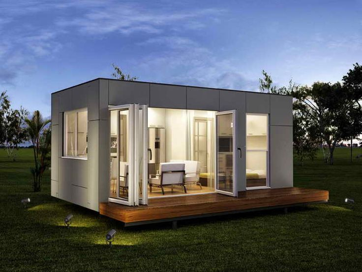 Logical Homes Shipping Container Wtih Front Look