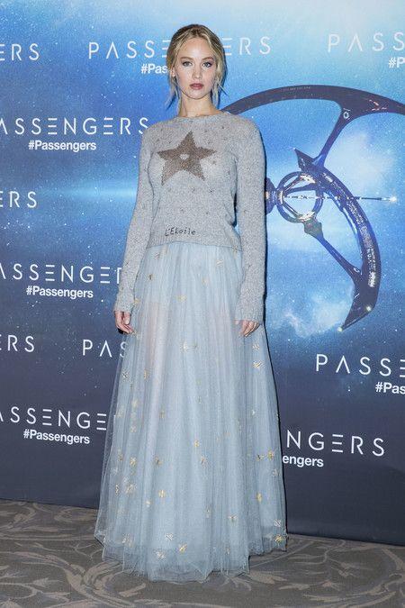 Jennifer Lawrence Jersey Dior