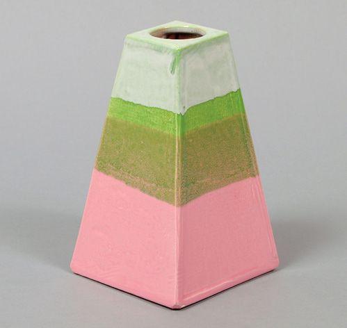peter shire: Building Colors, Ceramics Etc, Ceramic Jewelry, Ceramic Pottery, Ceramics Pottery, Ceramic Things, Ceramic Vase, Artistic Ceremic