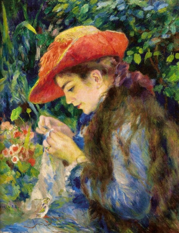 By Pierre Auguste Renoir