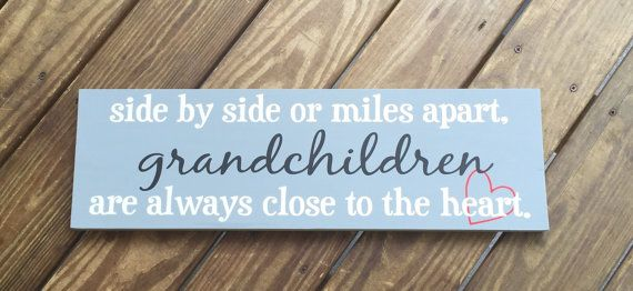 side by side or miles apart grandchildren are by NEthingispossible