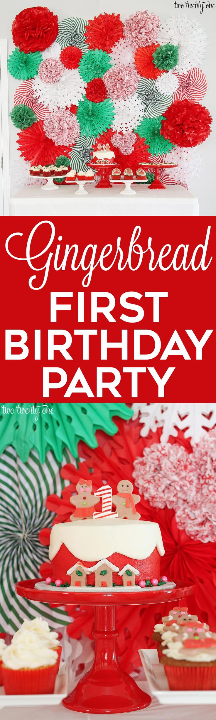 Christmas 1st Birthday Party Ideas Part - 22: Best 25+ December Birthday Parties Ideas On Pinterest | Christmas Birthday  Party, Christmas Birthday And Gingerbread Birthday Party