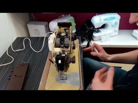 Смазка швейной машины Veritas (Веритас) - YouTube