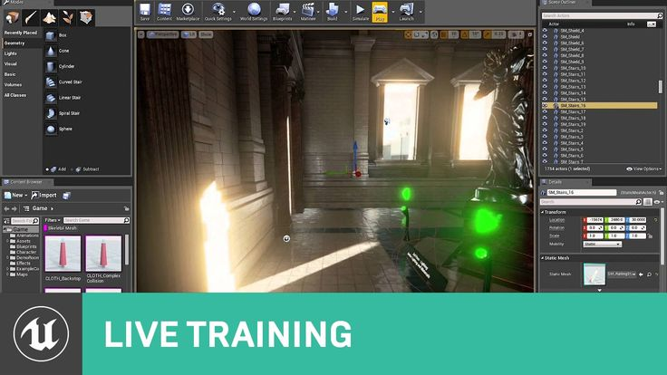 66 best unreal 4 tips images on pinterest unreal engine game intro to level design live training unreal engine in this video senior designer jim brown malvernweather Image collections