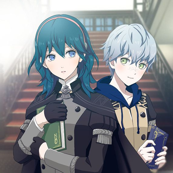 Byleth And Ashe Fire Emblem Characters Fire Emblem Heroes Fire Emblem