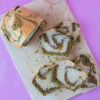 Matcha-Marmorkuchen 抹茶マーブルケーキ (vegan)
