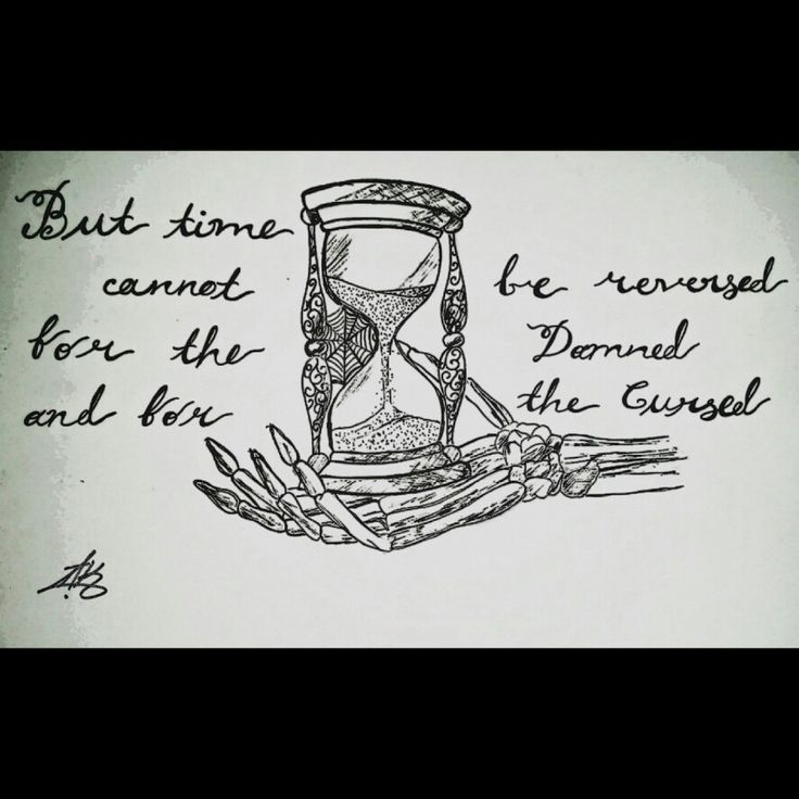 """""""But time cannot be reversed for the damned and for the cursed..."""""""
