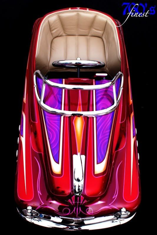Custom Pedal car...