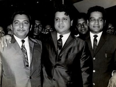 The article speaks about the magic combination of Rafisahab and Madanmohanji. Whatever they have created together was magic. The great songs that were composed in the 1950s,60s and 70s were mentioned.