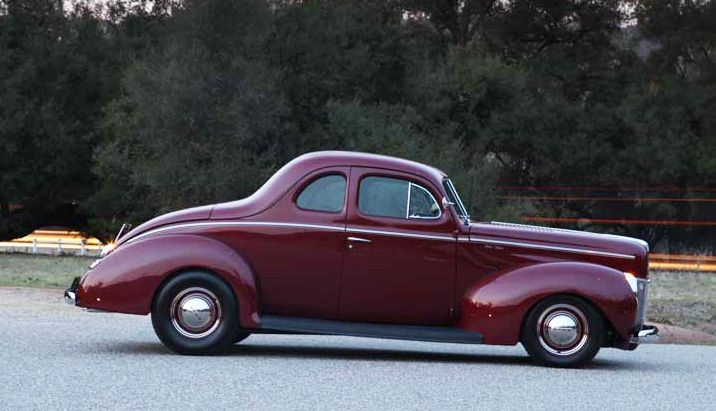 Tome Medley 1940 Ford Deluxe
