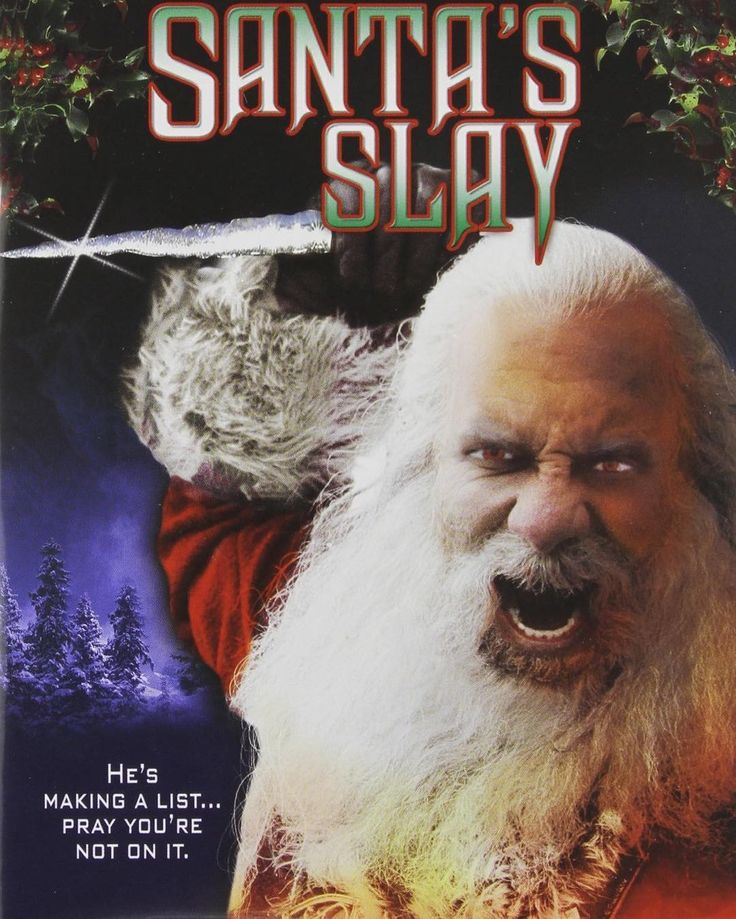Tonight's #ChristmasHorror: None other than #SantasSlay! Starting #BillGoldberg as #SantaClaus the son of #Satan who millennia ago lost abbey to an angel and has had to be nice for the passed 2000 years. And now the bet is up! A true modern #horror classic! #YouveBeenBad! #Naughty!  'Twas a week before #Christmas and was dark in the house. It's #HorrorMovies we're playing! Stop stabbing your spouse!  #ChristmasHorror #Santa #WWE #wrestling #wrestler #slasher #slasherfilm #axemurderer
