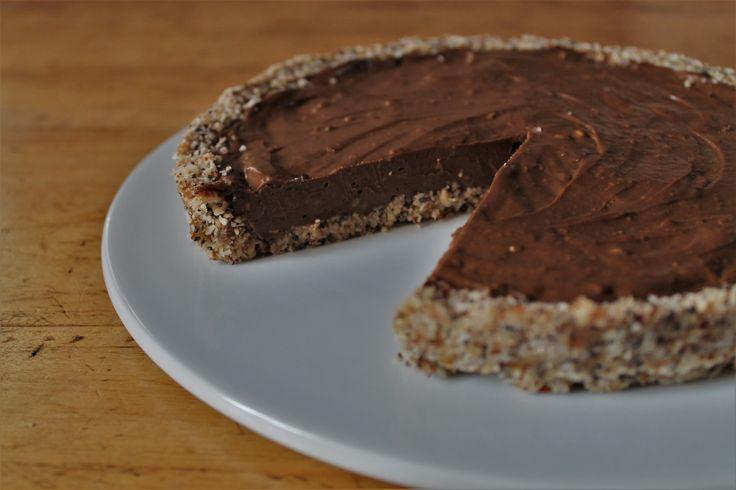 Keto Cake Recipe Australia: Tarte Crue à L'avocat Et Au Chocolat