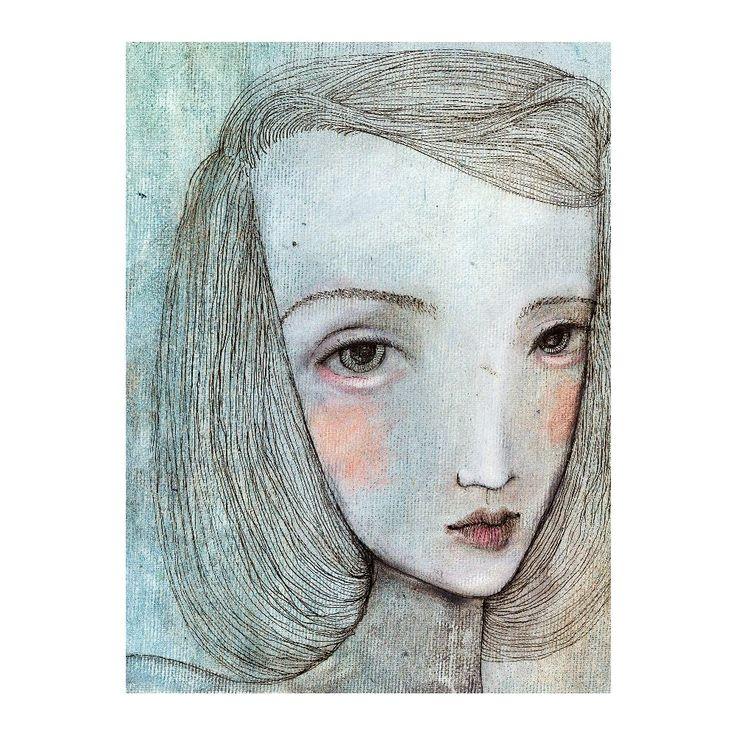 Autorský plakát od Lény Brauner Alice, 60x77 cm | Bonami