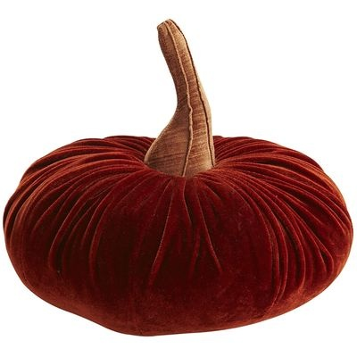 Pumpkin Pillow...I think this would work all the way through Thanksgiving. I like the darker pumpkin color.