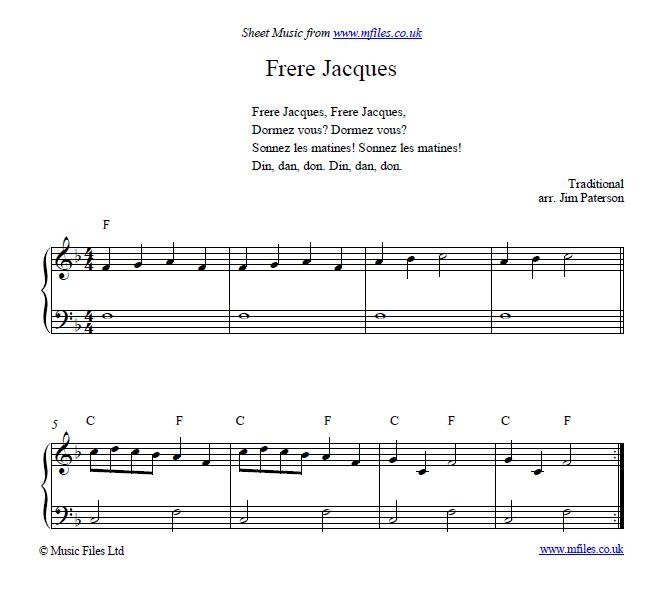 chopsticks piano sheet music pdf