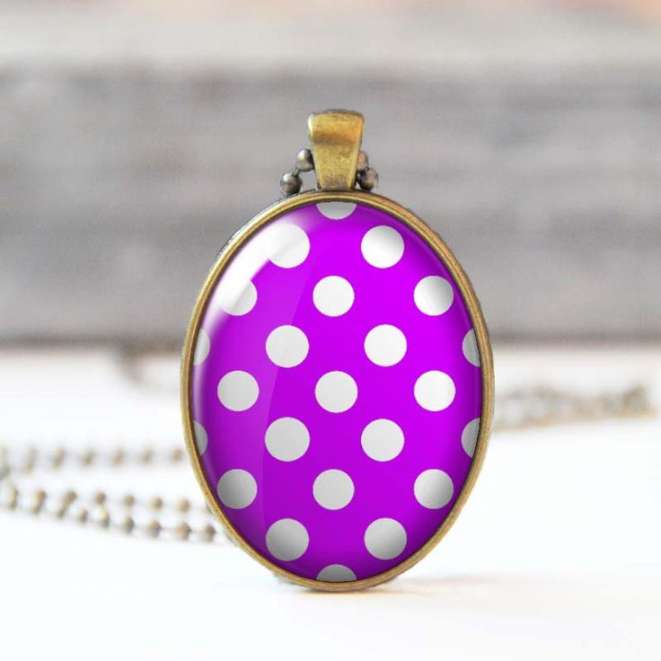 Purple charm necklace Polka dot photo necklace Oval pendant necklace Glass dome jewelry for women 24.00 USD StudioDbronze Purple necklace charm necklace Polka dot necklace photo necklace Oval necklace pendant necklace Glass dome necklace Glass dome jewelry Jewelry for women 5008 Purple charm necklac Purple jewelry Purple polka dot #handmade #jewelry #etsy