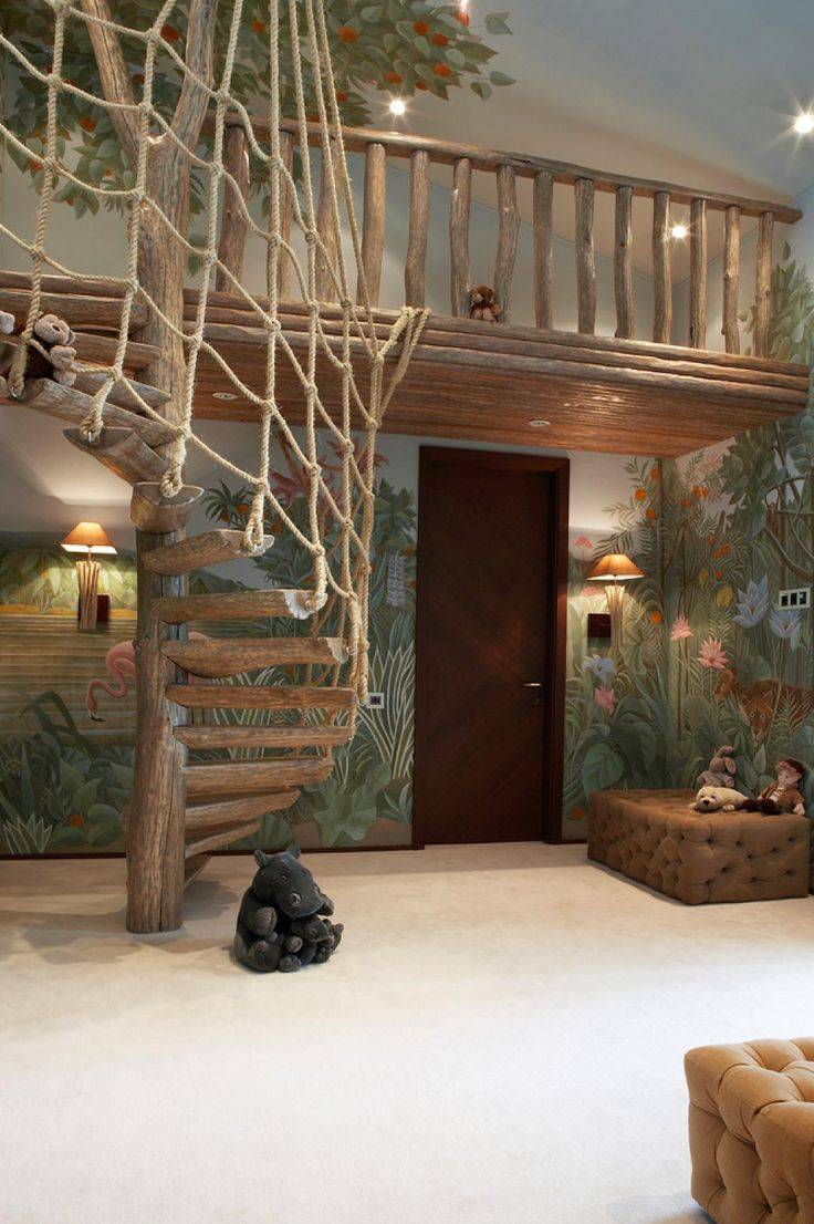 Best 25 Jungle Theme Bedrooms Ideas On Pinterest Cool Kids Beds Woodland Bedroom And Fort Bed