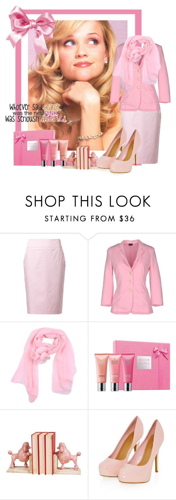 """Legally Blonde"" by alaskayoung-383 ❤ liked on Polyvore featuring Daniel Hechter, Snobby Sheep, Lunatic, Molton Brown and By Charlotte"