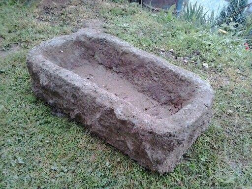 Koryto z betonu