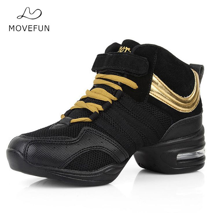MoveFun Brand New Soft Outsole Breath Latin Dance Shoes Women Jazz Dance Sneakers for Girls apatos baile mujer latino-17