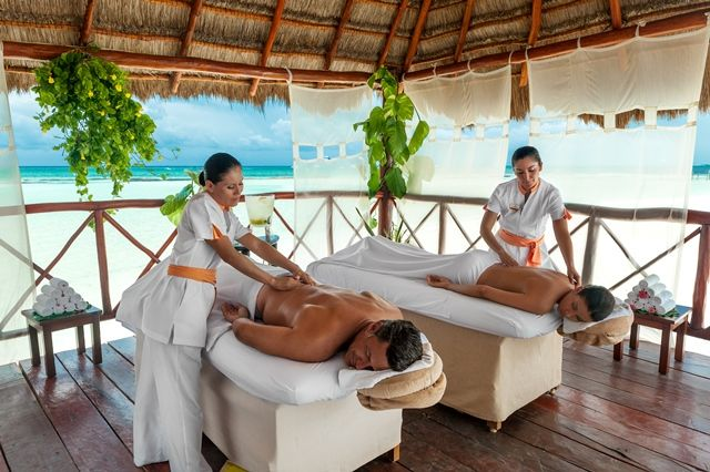 Náay Spa Signature Treatment Sunrise Couple Plan His-and ...