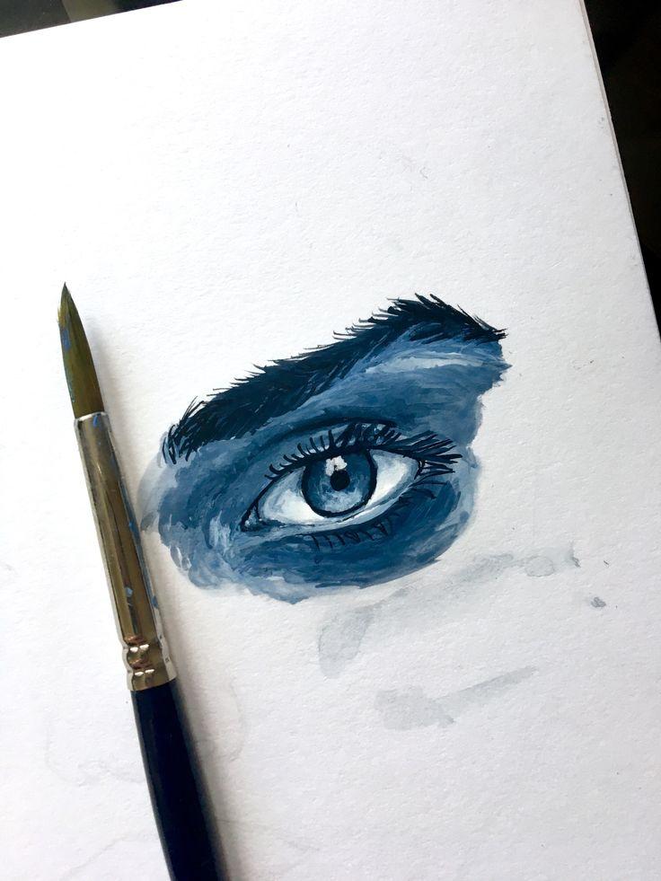 Watercolour sketchbook idea.