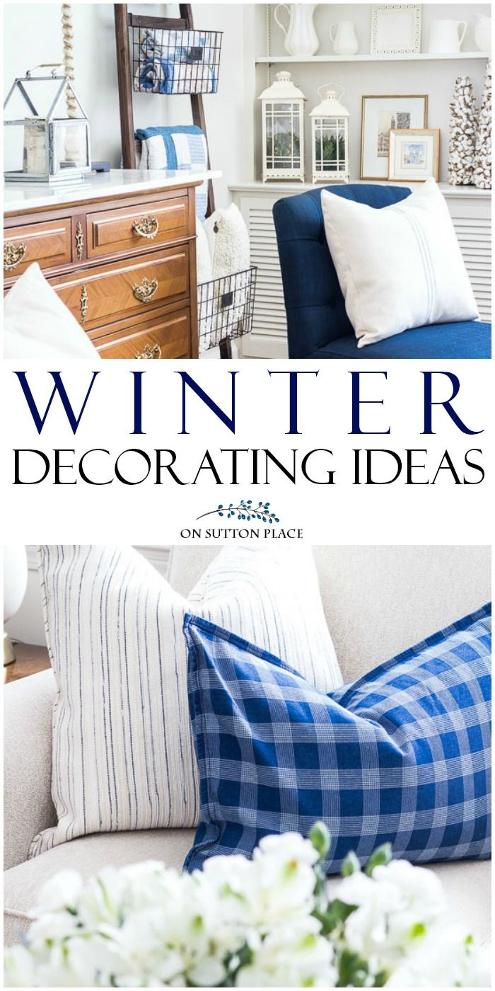 Cozy & Comfortable Winter Living Room Decorating Ideas   Inspiration for adding texture & neutral colors to your spaces during the winter months.  #winterdecor #winter #neutraldecor via @adrake606