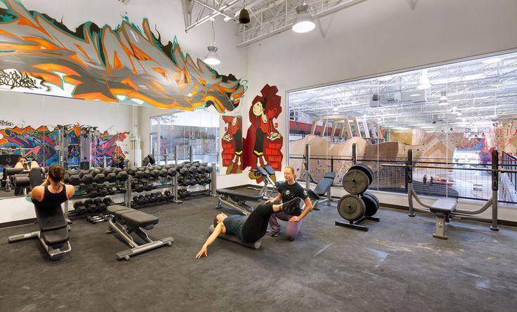 Galeria de Centro Colaborativo Brooklyn Boulders / Arrowstreet + Chris Ryan - 6