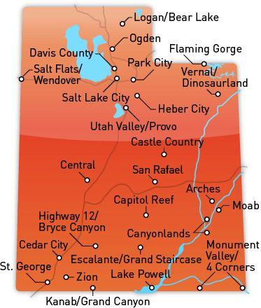 Utah's Best Destinations/All the camping spots in Utah at Utah.com