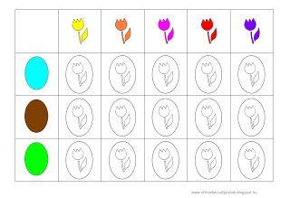 Otthon készült játékok: Letölthető tavaszi, húsvéti táblázatok