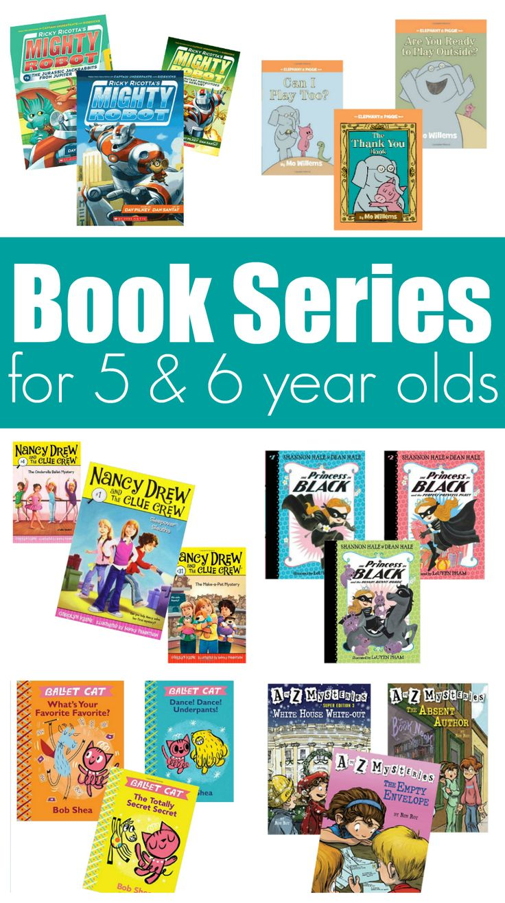 Great book series for 5 & 6 year olds, these are fun, silly, engaging books…