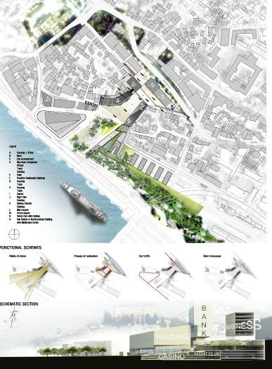 Best Urban Design Competition Images On Pinterest Urban - Unique design presentation board layout design
