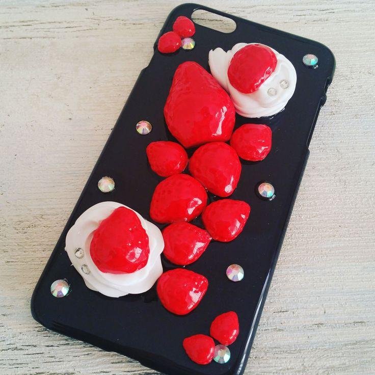 iphone6 case,iphone 6s plus,iphone 6s,Decoden Kawaii Phone Case Handmade,Fruit #Emicocosweet