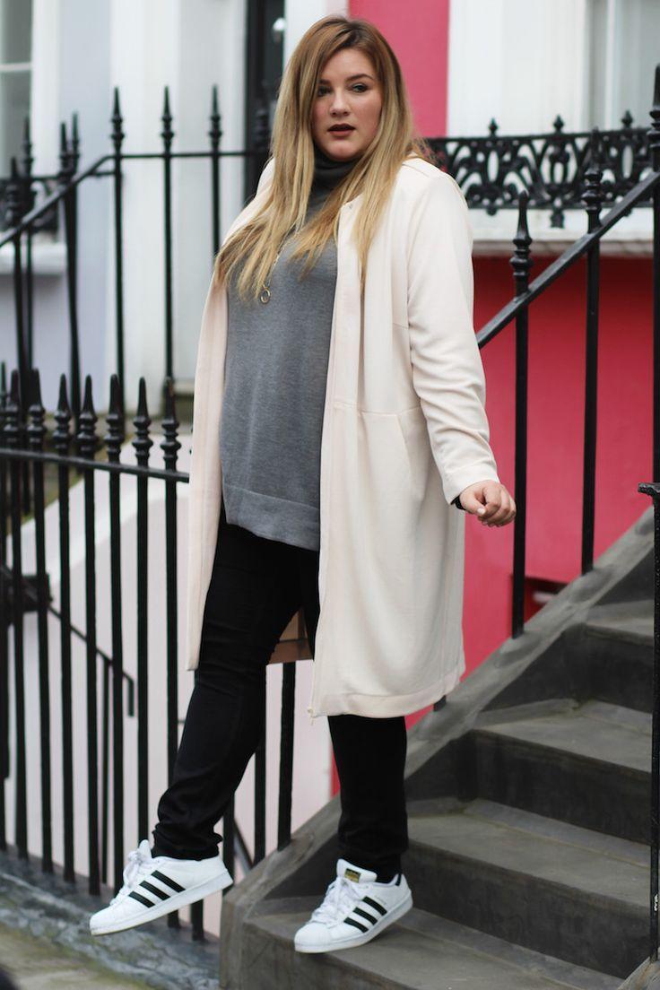 Plus Size Fashion for Women - London Look | Theodora Flipper big size fashion http://amzn.to/2kRZpiY
