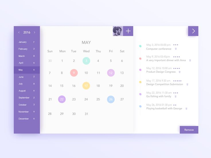 Calendar Design For Website : Best ui design item calendar images on pinterest