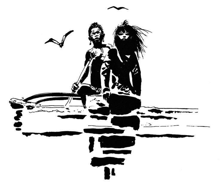 """Diseño extraido de """" La balada del mar salado"""""""