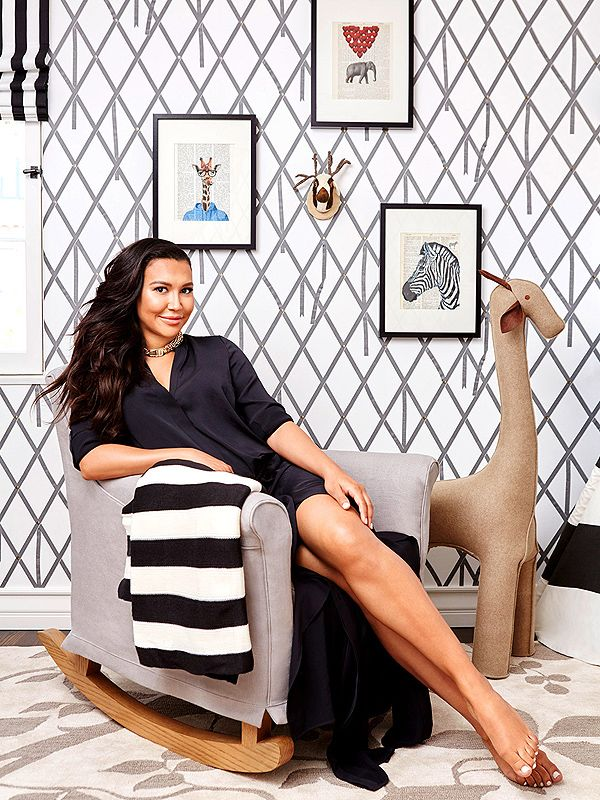 Inside Naya Rivera's Neutral-Toned Nursery — Inspired by a Teepee! http://celebritybabies.people.com/2015/06/30/naya-rivera-pregnant-nursery-photos/