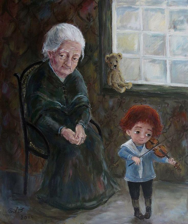 Morning, Nino Chakvetadze's Art