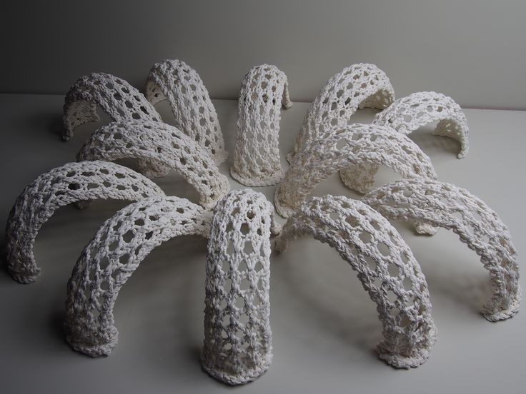 playing around  porcelain saturated knitting