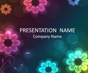 Floral Microsoft PowerPoint Templates
