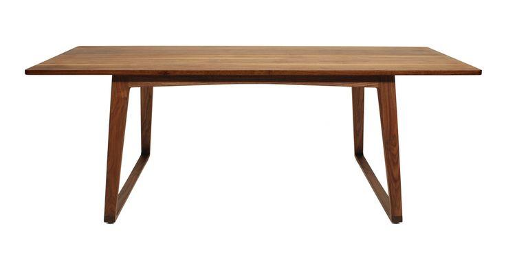 Modern Furniture - DoubleButter - TURTLE DINING TABLE—WALNUT