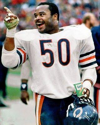 Sports- Chicago Bears Mike Singletary