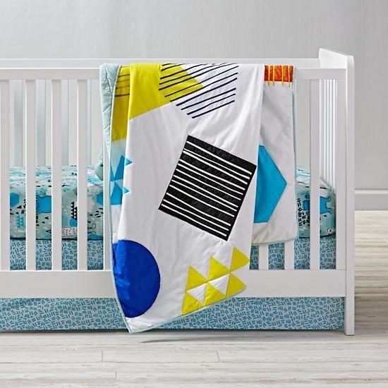 Creature Comfort Crib Bedding  | The Land of Nod
