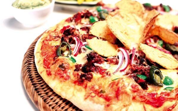 Oppskrift på hjemmelaget tacopizza