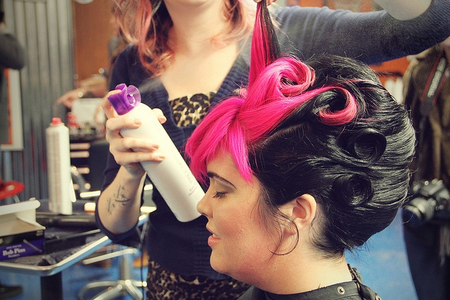 I would have my hair like this every day! (Choptops Curls by BARISTAKRYSTAL, via Flickr)