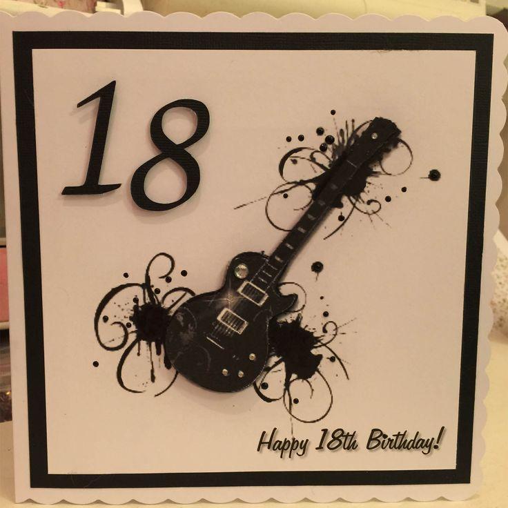 18th Birthday Card Boy
