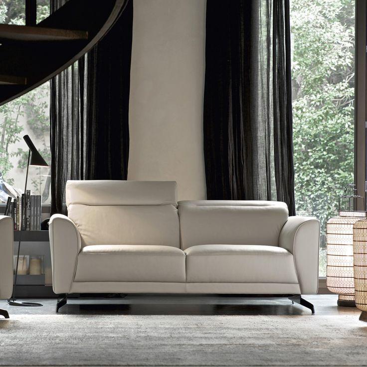 Edison - Doimo Salotti divano in pelle classico