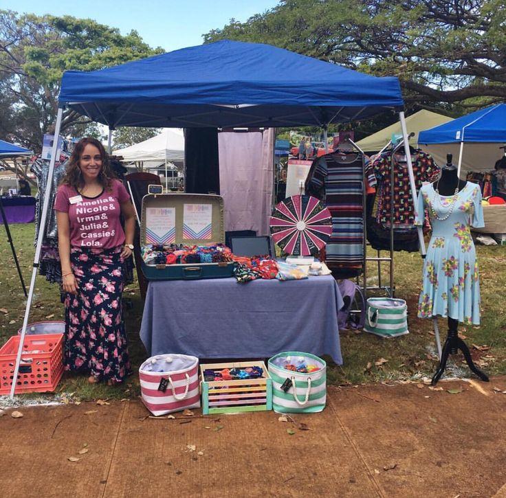 Lularoe At Craft Vendor Show