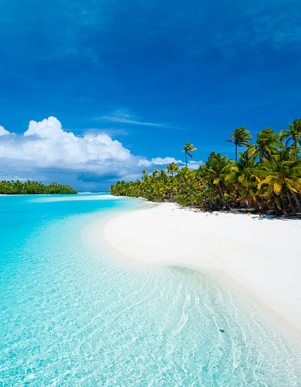 Aitutaki, Cook Islands. David and I went here, and it is TRULY this beautiful!!!